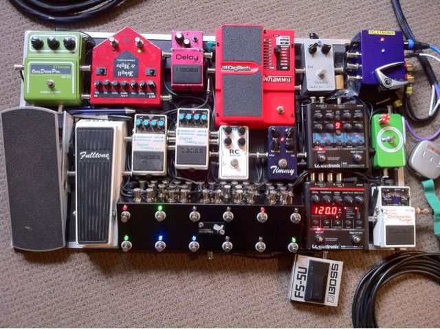 hillsongs pedal board tube screamers and a new pedal the gear page dream guitar pedal. Black Bedroom Furniture Sets. Home Design Ideas
