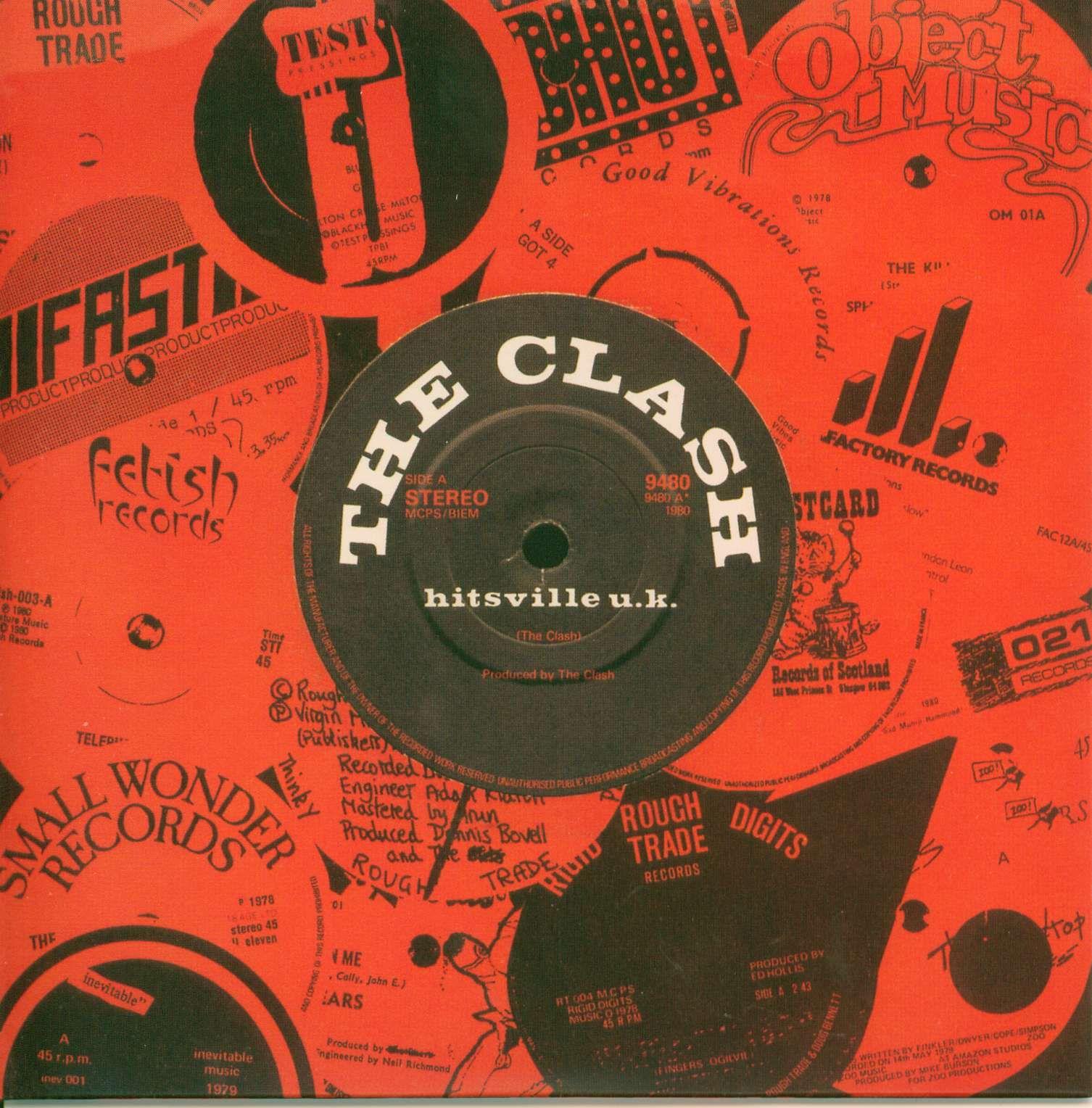The Clash Hitsville Uk