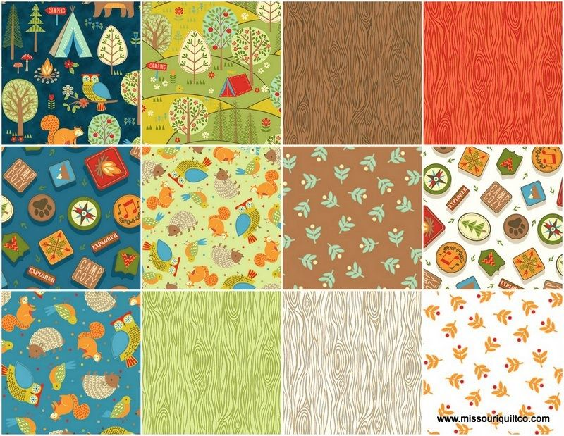 Camp Cozy 10 Squares Studio 8 Quilting Treasures Missouri Star Quilt Co Quilting Treasures Quilts Missouri Quilt Company