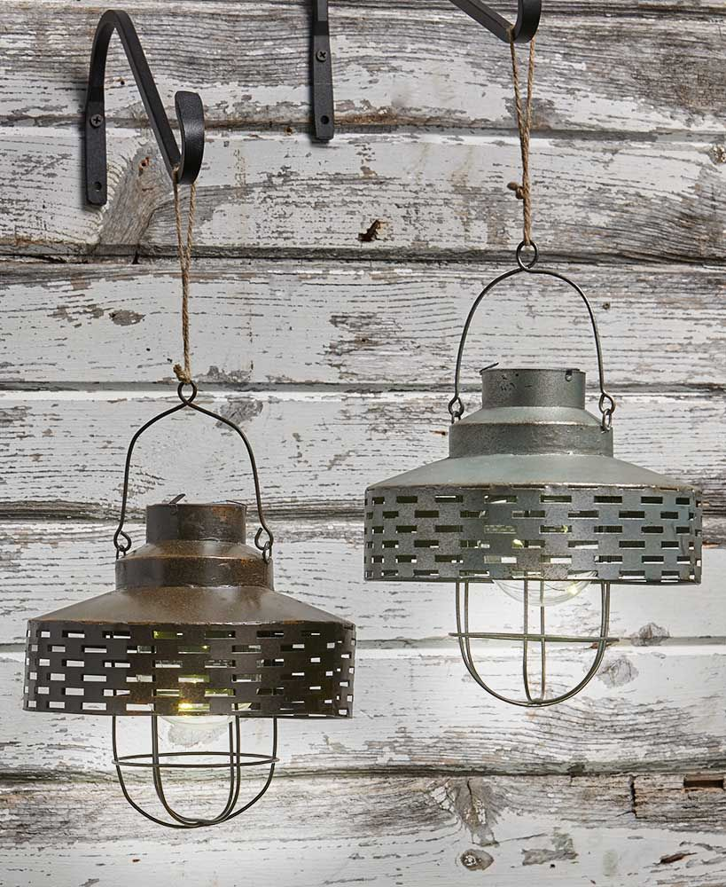 Rustic Olive Bucket Solar Lanterns Solar Lanterns Solar Lights Solar Light Crafts