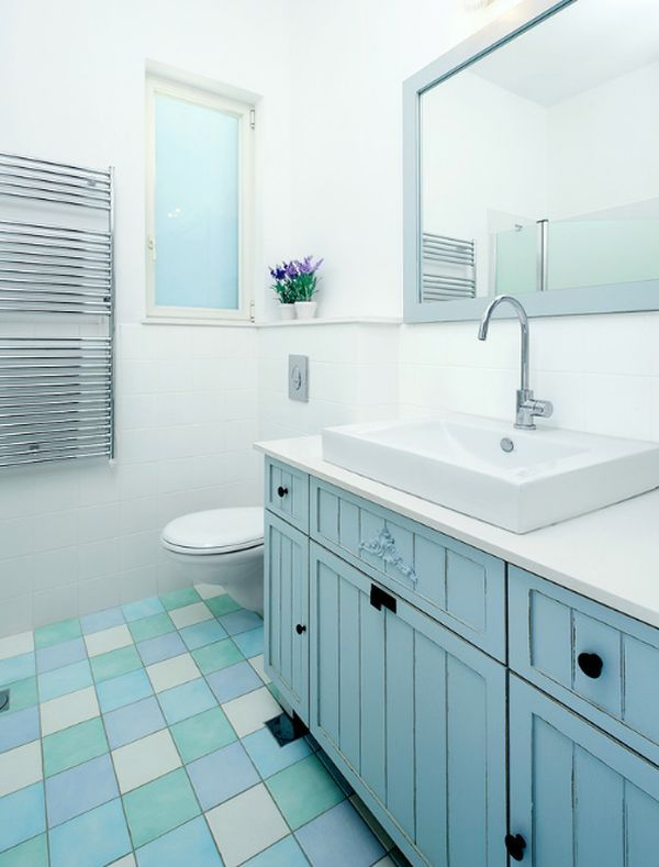 How to tile a bathroom floor yourself the easy way flooring colorful tiles give the bathroom a makeover how to tile a bathroom floor yourself the solutioingenieria Gallery