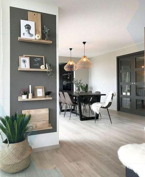 Décoration de salle de séjour pour votre appartement #apartment # décoration #li #HomeDecor