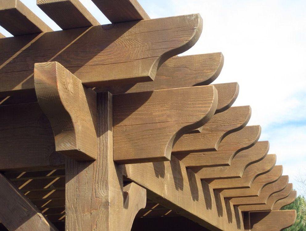 Pergola Rafter Ends Design - Pergola Rafter Ends Design Forever Home Pergola, Rafter Tails