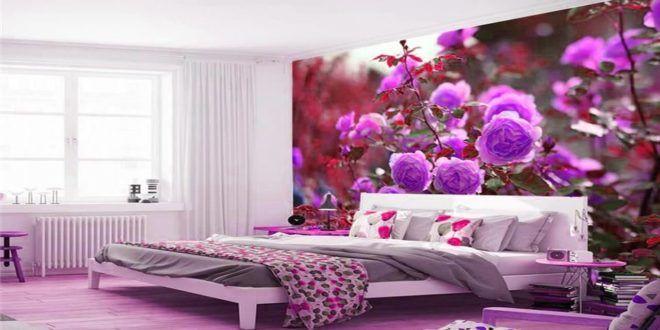 أشكال ورق جدران غرف نوم ثلاثي الأبعاد 2019 جديدة Bedroom Wall Designs Wall Decor Bedroom Pink Bedroom Decor