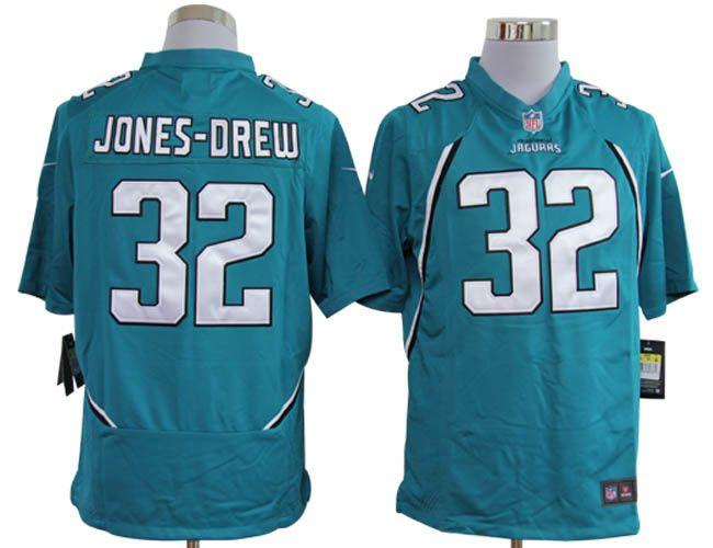 Maurice Jones-Drew Jersey, #32 Nike NFL Jacksonville Jaguars game Jersey in green