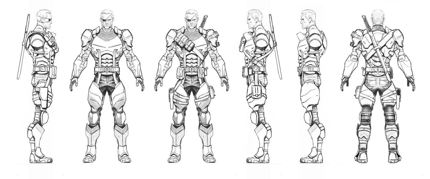 Pin by Andrew Sung on ninja heroes concept art