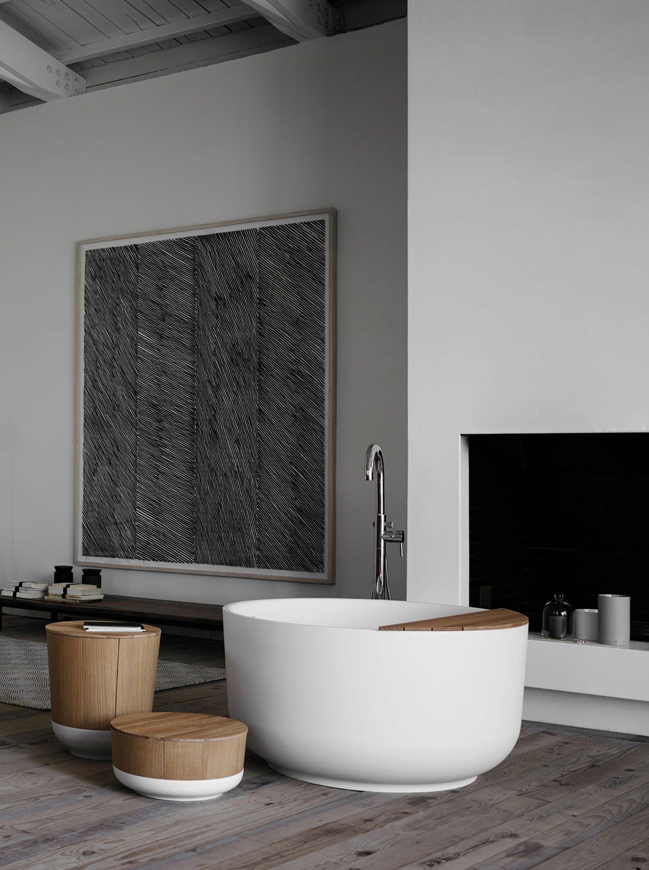 Fint lite badekar naturlig midtpunkt bathroom deco pinterest fint lite badekar naturlig midtpunkt ppazfo