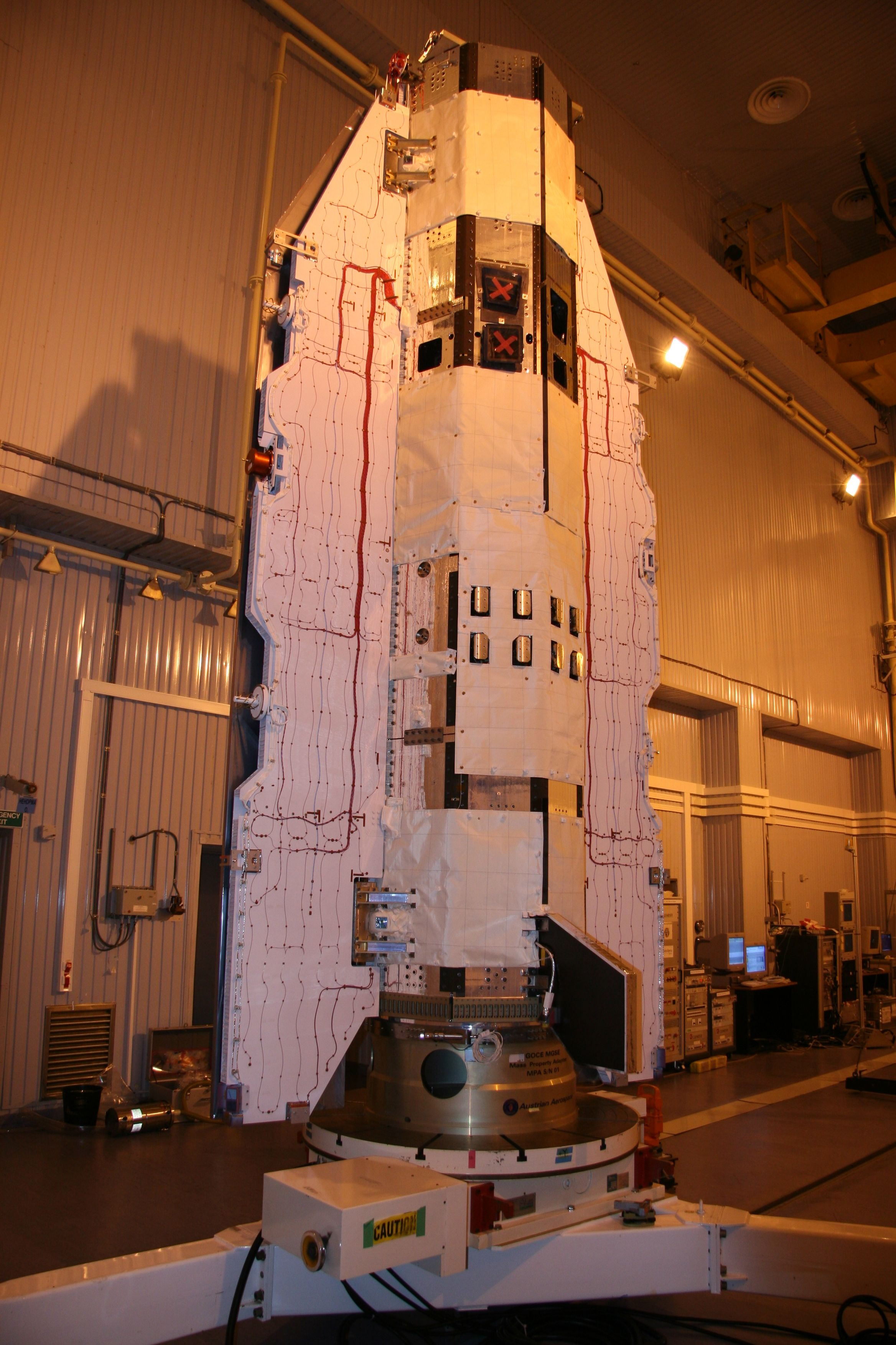 GOCE Earth Explorer satellite to look at the Earth's surface and ...
