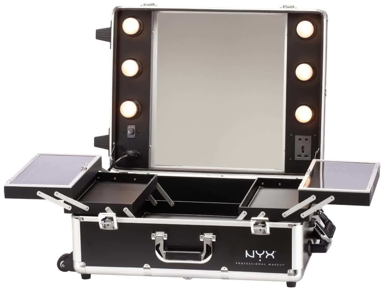 Makeup Vanity Table With Lighted Mirror Makeup Storage Mirror Makeup Mirror With Lights Makeup Vanity Storage