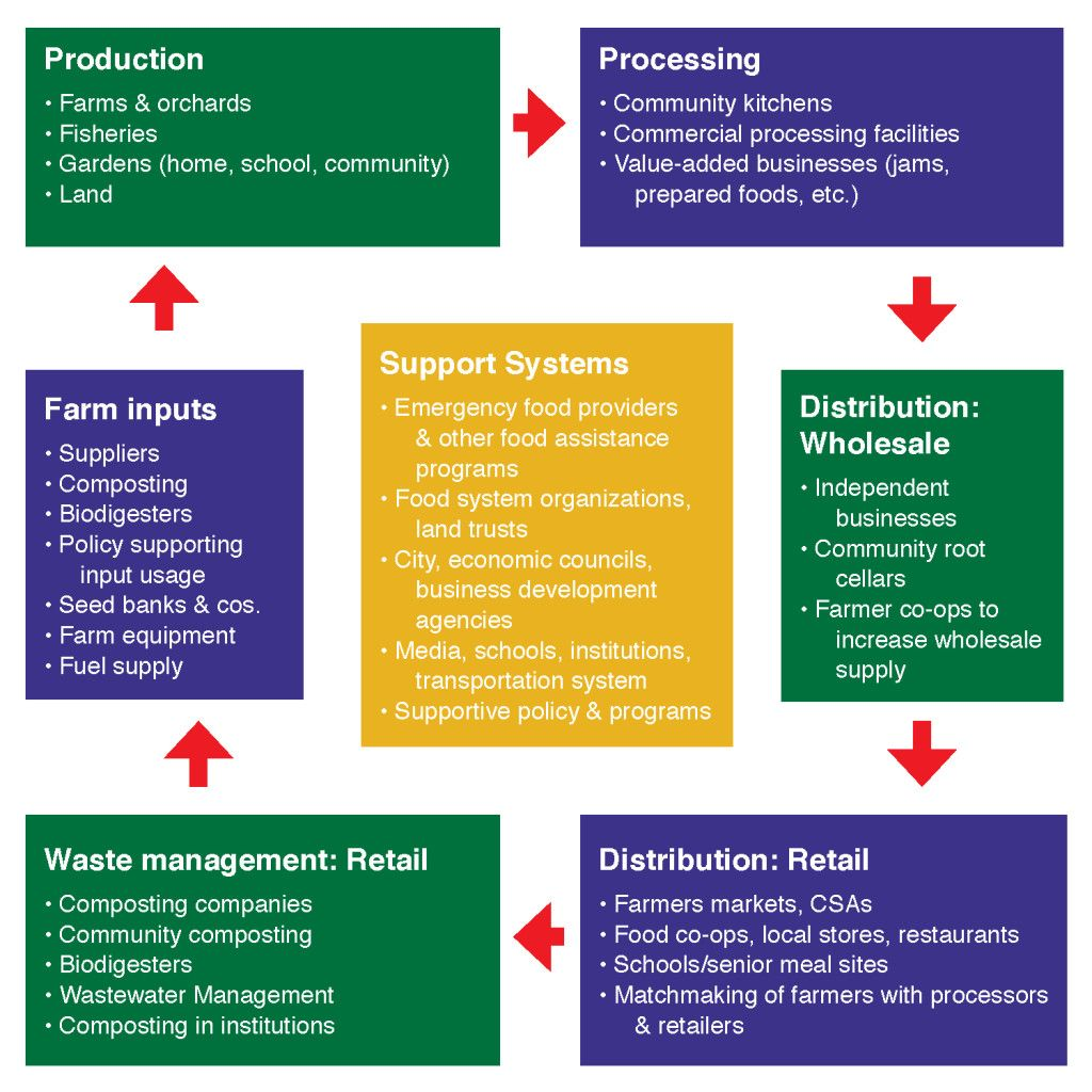 Food Systems Food System Composting Food Food Assistance