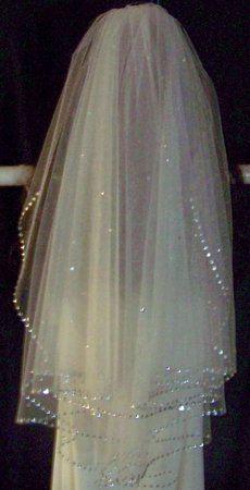 Sparkly Wedding Veil
