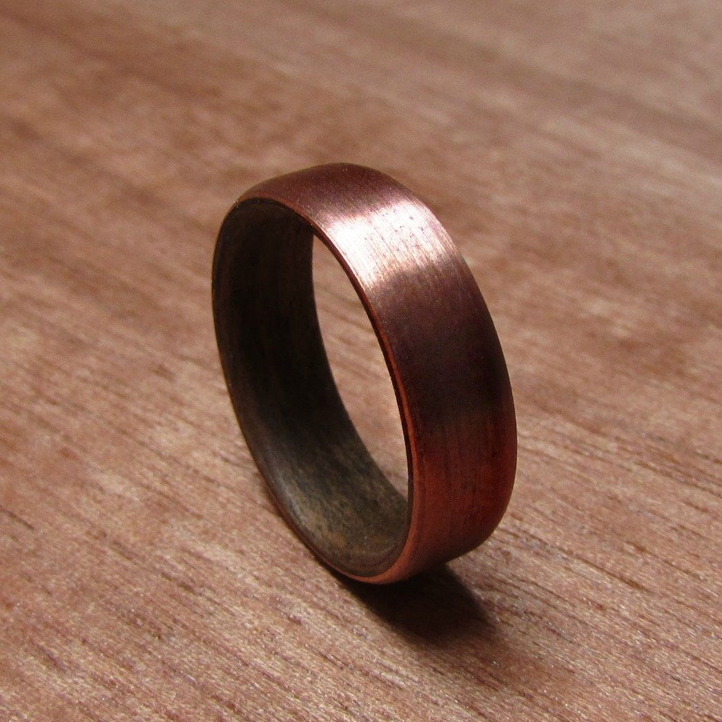 Excited To Share The Latest Addition Rustic Mens Wedding Band 7 Year Anniversary Gift For Mens Rustic Wedding Bands Copper Wedding Rings Copper Wedding Band