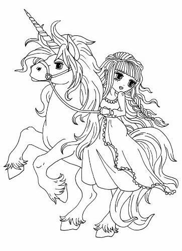 Anime Princess Fairies Artist Elena Yalcin Animal Coloring Pages Pokemon Coloring Pages Coloring Pages
