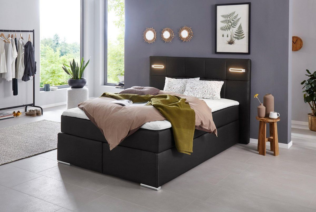 Collection Ab Boxspringbett Dormante Inkl Led Beleuchtung