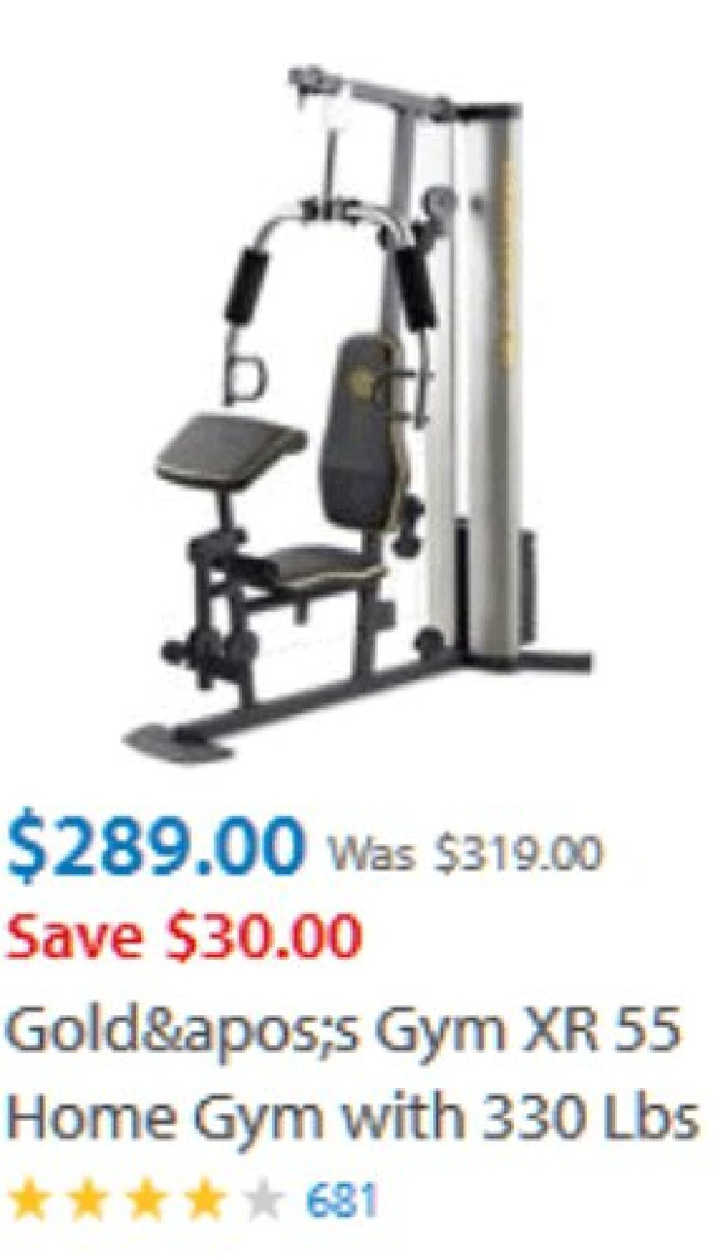 Gold Gym Xr55 Home Workout Equipment Best Home Workout Equipment Gym