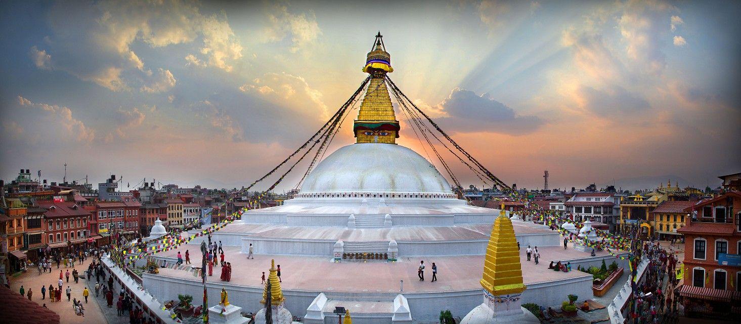 massive mandala in Kathmandu