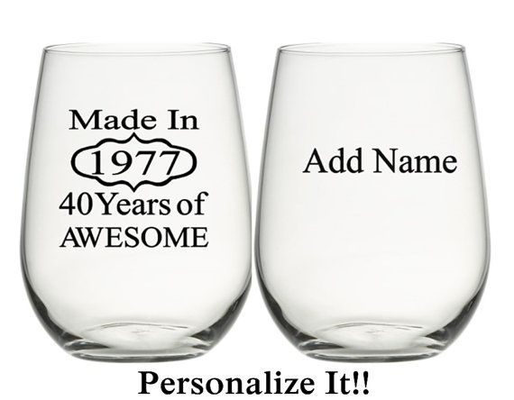 40th Birthday Gifts For Women Por Personalizedgiftsus