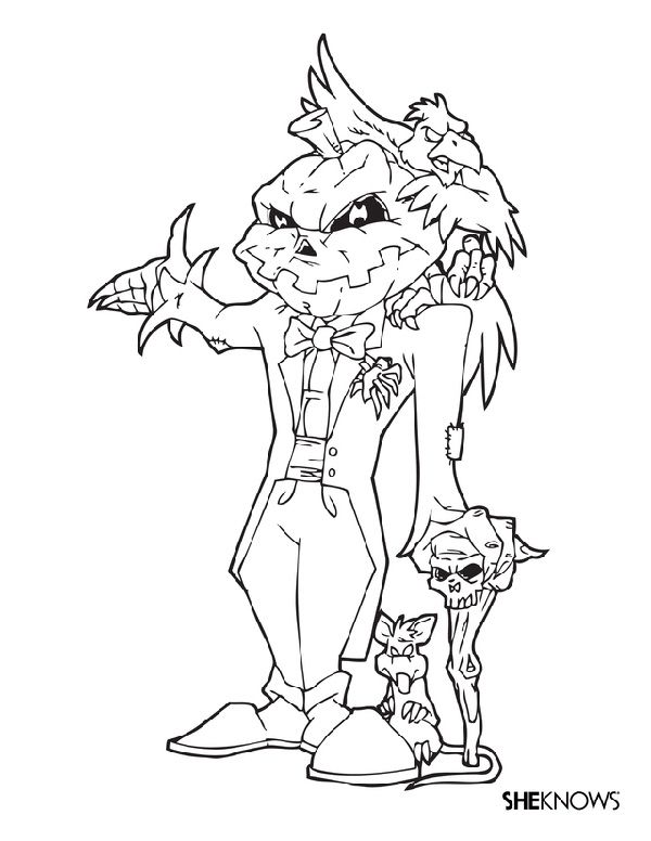 These Halloween Coloring Pages Are the Perfect Antidote to Fall ...