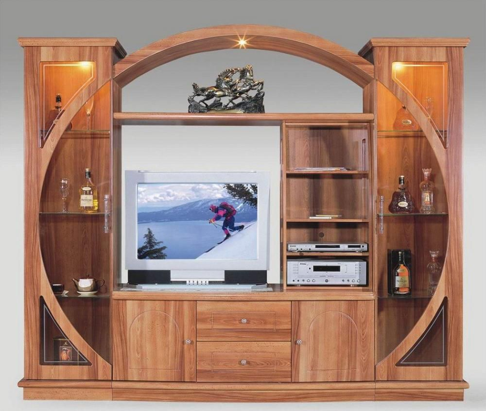 Wood tv stand designs google search tv stand for Table tv design