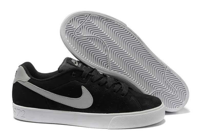 on sale 91400 5dc17 1443   Nike Blazer Low Dam Herr Deep Svart Grå Vit SE273773jqvYidTZ