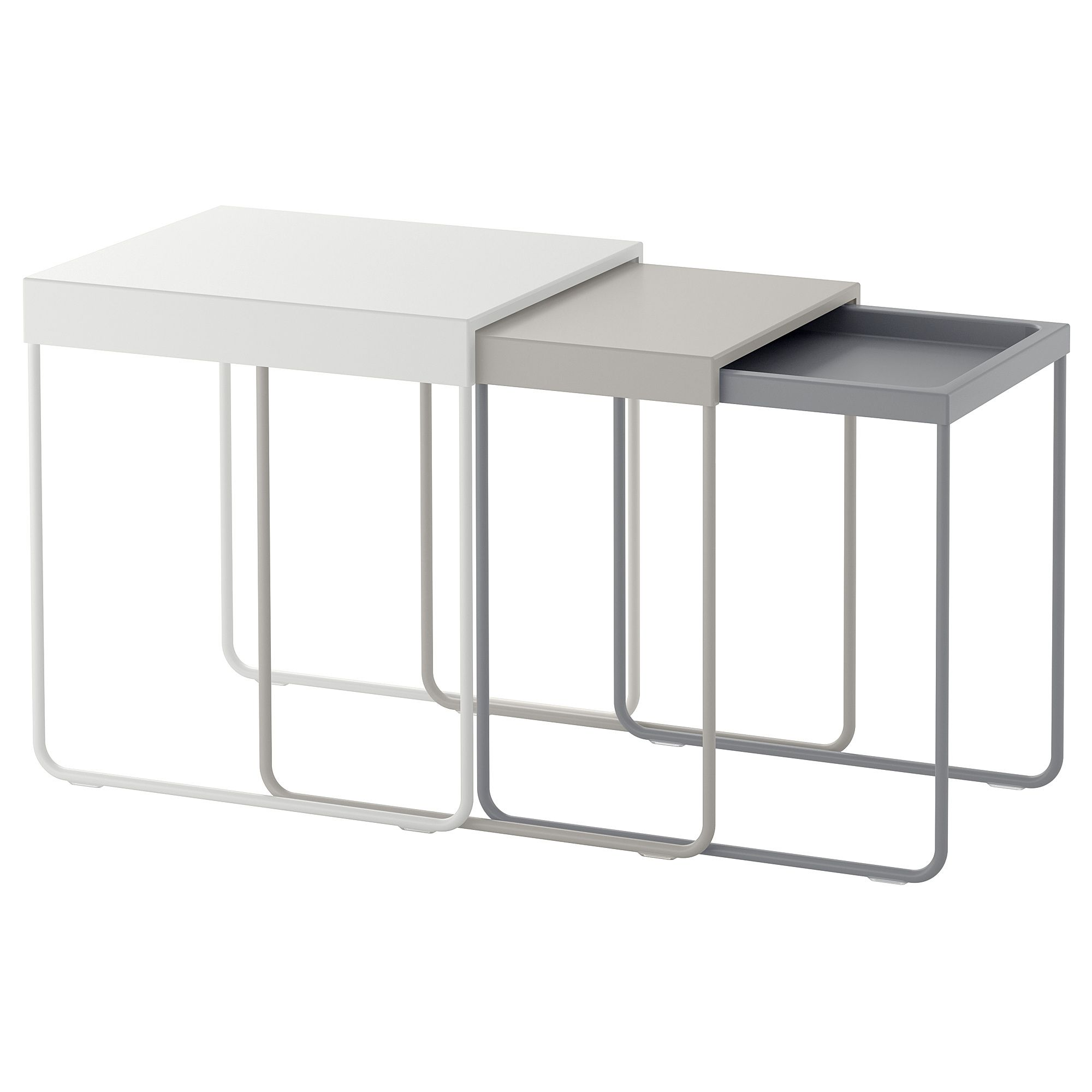 Lustre Ikea A Monter Tables Gigognes Lot De 3 Granboda Riviera Chic En 2019