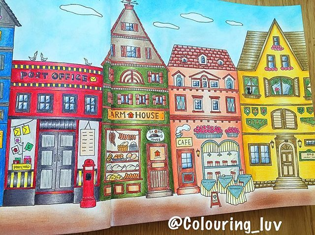 Colouring Luv Close Ups From Romantic Country By Eriy06 Romantic Country Romantic Coloring Books
