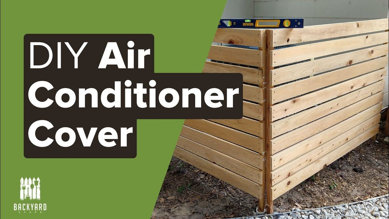 Air conditioner cover diy outside ac cover air