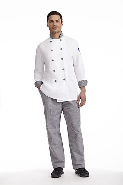 8a7f973617e Unisex Classic Chef Coat Clean lines give this chef coat a classic,  professional feel. Durable and lightweight, perfect for long hours in the  kitchen.