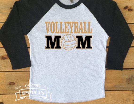 Custom Made Shirt Volleyball Mom Sport Volleyball Baseball Shirt Custom Colors Volleyball Shirt Designs Volleyball Mom Shirts Design Volleyball Mom Shirts