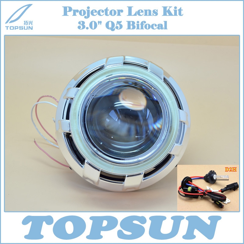 78.60$ Buy here - GZTOPHID Headlight Kit H4 Projector Lens 3 Inch Q5 ...