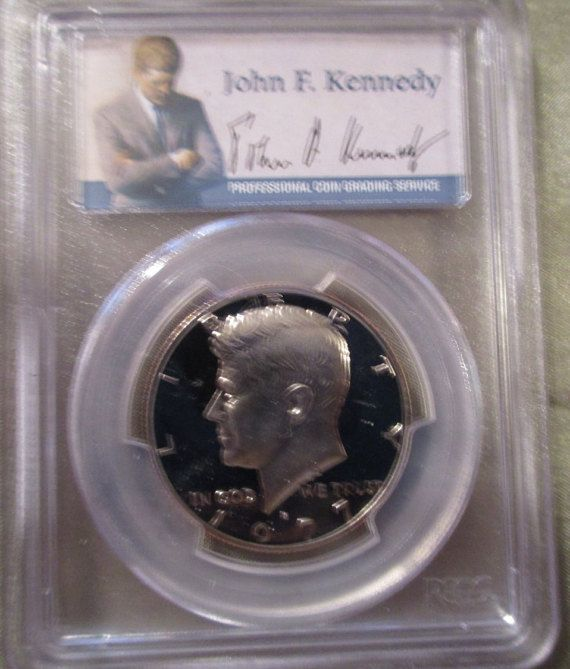 Graded Kennedy Half Dollars, Silver Coins, Collectible Coins, Coin Collecting, JFK Coins, 2000 S Kennedy, 1977 S Kennedy (Clad), Proof Coins