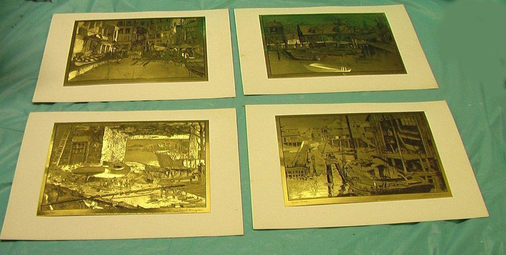 Art prints lionel barrymore actor artist gold etchings