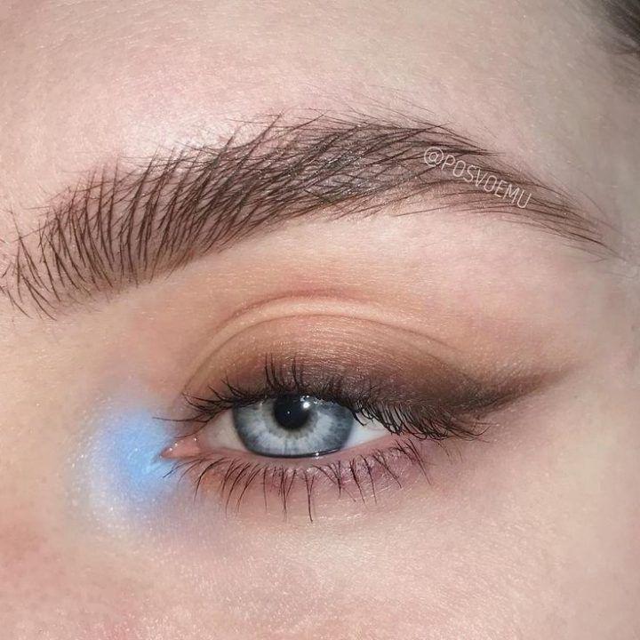 """Mila Bulatova de Instagram: """"La belleza más bella para los ojos azules."""