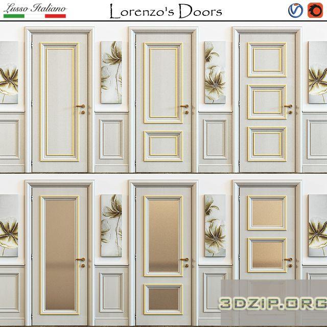 3d Lorenzo's Doors Model Free Download