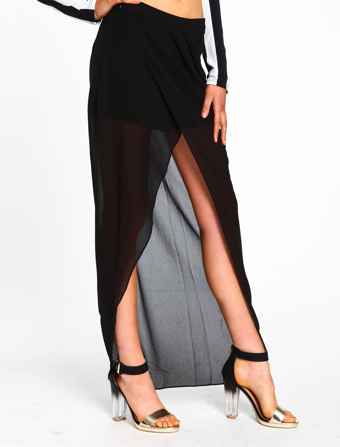 #Love Culture             #Skirt                    #Wrap #Chiffon #Skirt     Wrap Chiffon Skirt                                  http://www.seapai.com/product.aspx?PID=4146
