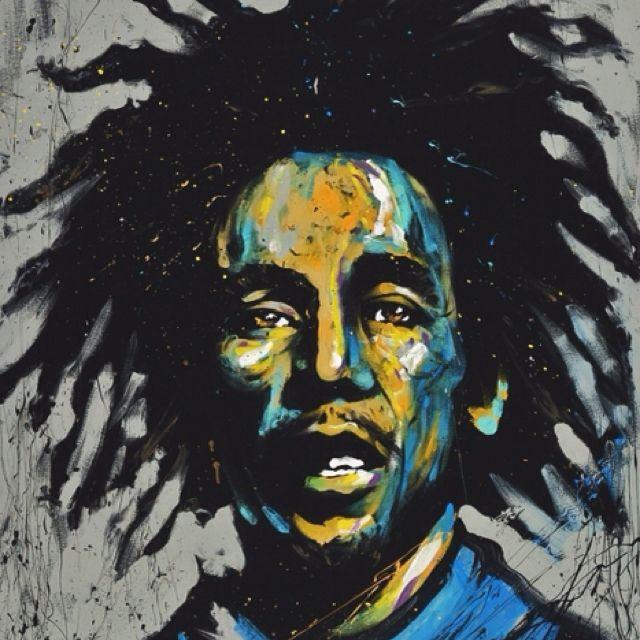 Bob Marley by David Garibaldi