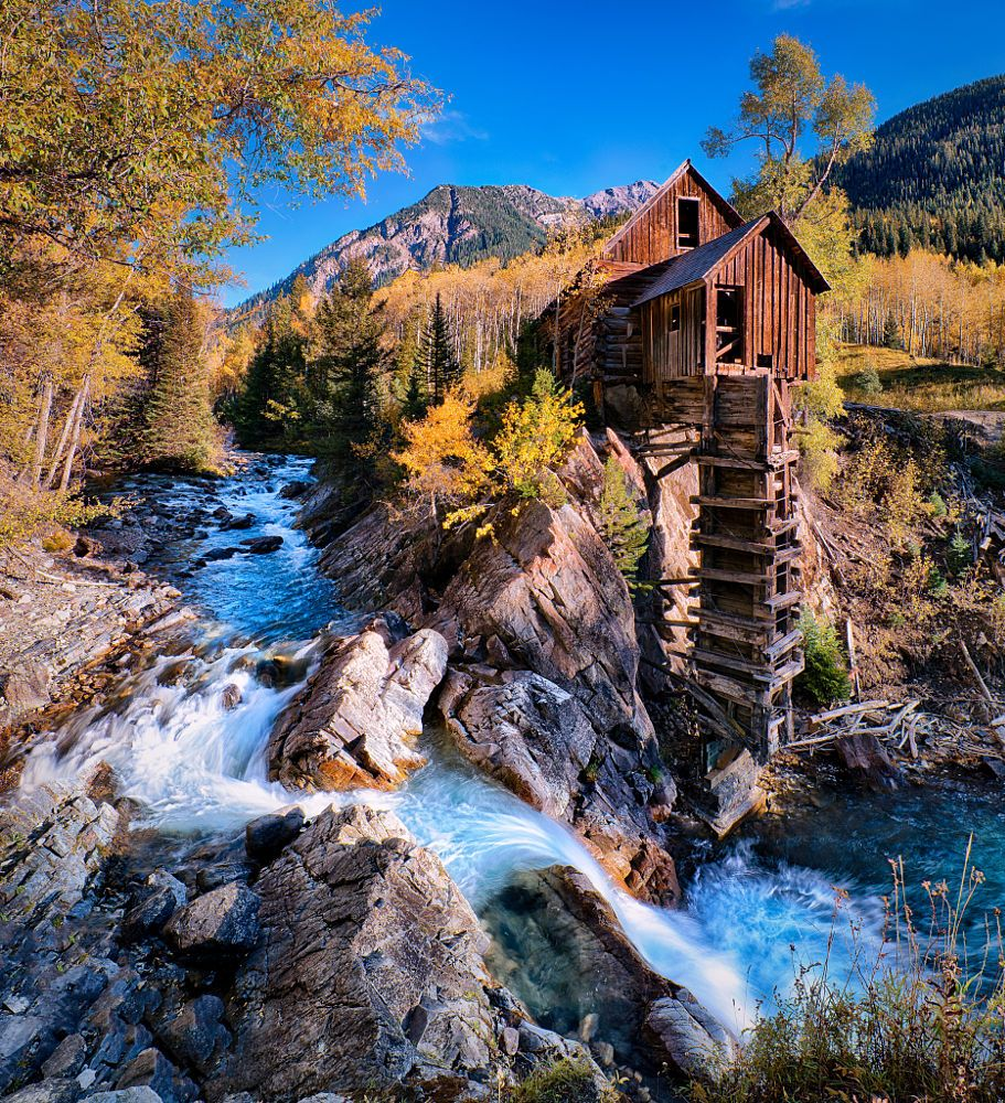 Cool Places In Colorado: The Crystal Mill In Fall (Colorado) By David Soldano On