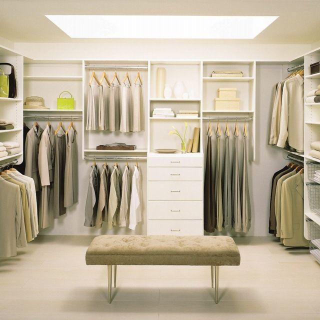 Begehbarer kleiderschrank größe  Beleuchtung begehbarer Kleiderschrank Ordnungssystem Ideen zum ...