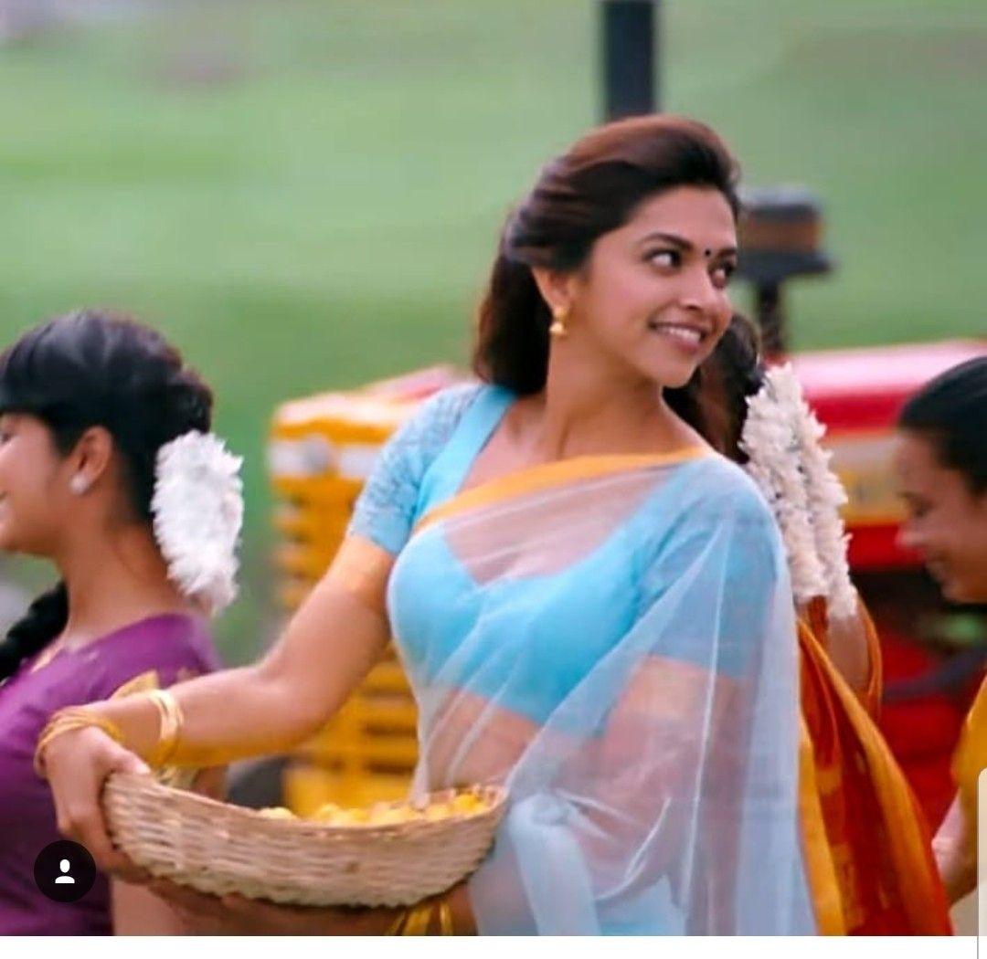 Deepika Padukone Chennai Express Saree Pics - Deepika ...