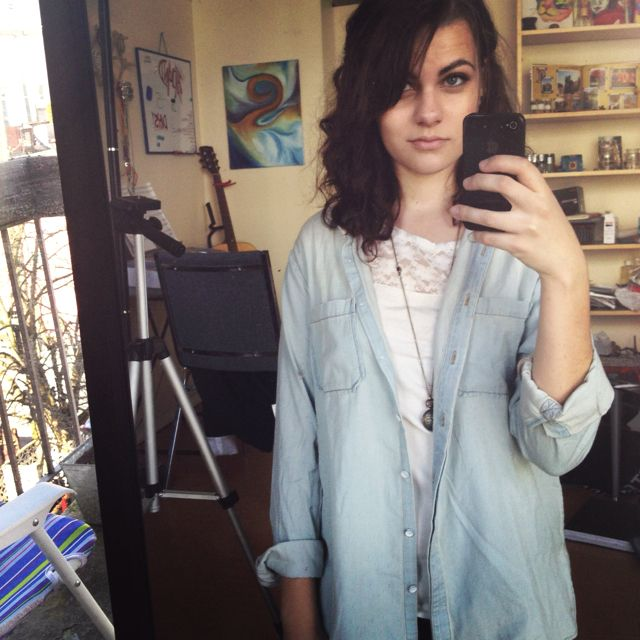 Urban outfitters! Undershirt h+m :)