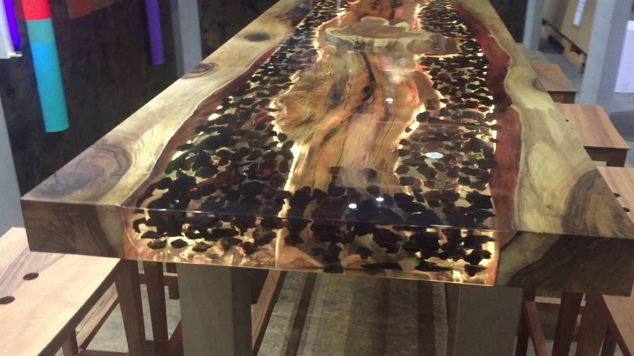 leuchttisch 1 epoxidharz tische m bel epoxy resin. Black Bedroom Furniture Sets. Home Design Ideas