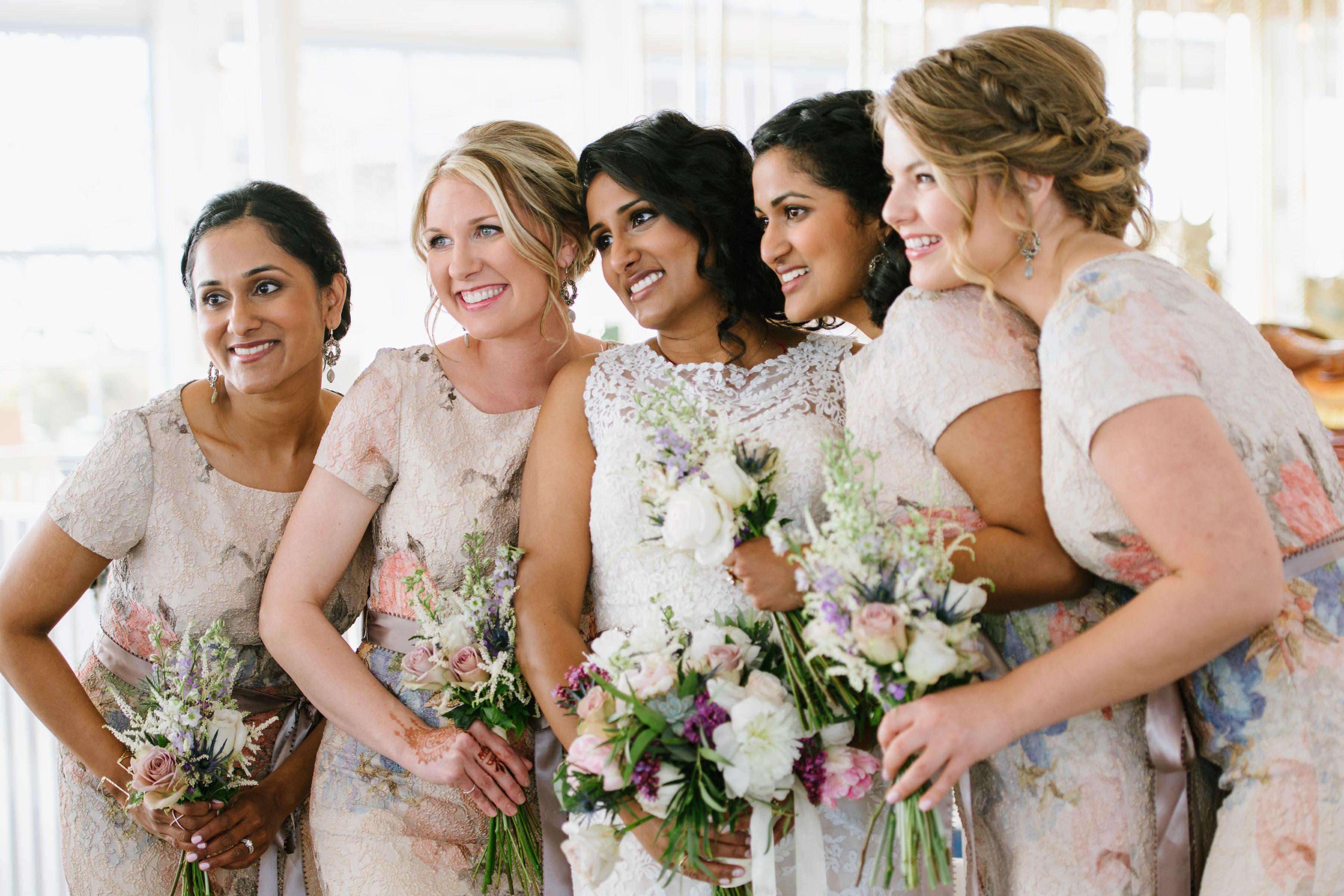Bridal party floral bridesmaid dresses olivia gird photography bridal party floral bridesmaid dresses olivia gird photography ombrellifo Image collections