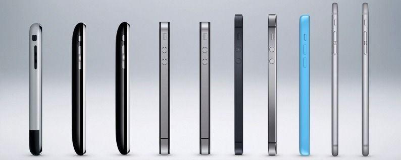 The Evolution Of The Iphone Every Model From 2007 2018 Iphonelife Com First Iphone Iphone Models History Of The Iphone