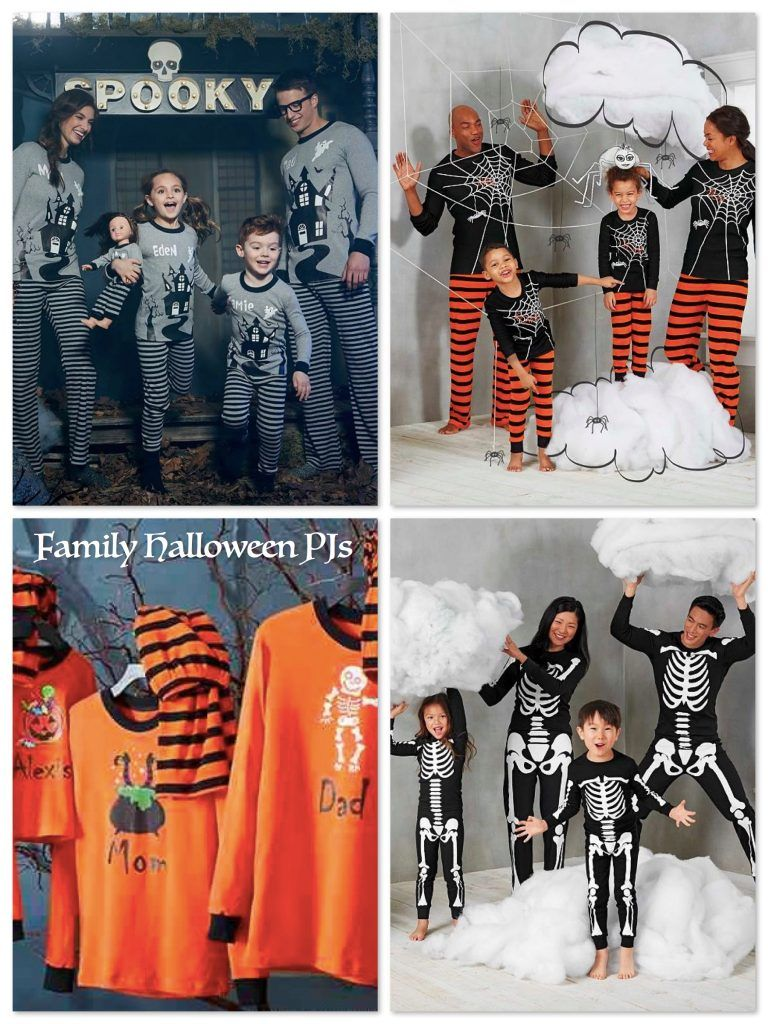 matching family halloween pajamas