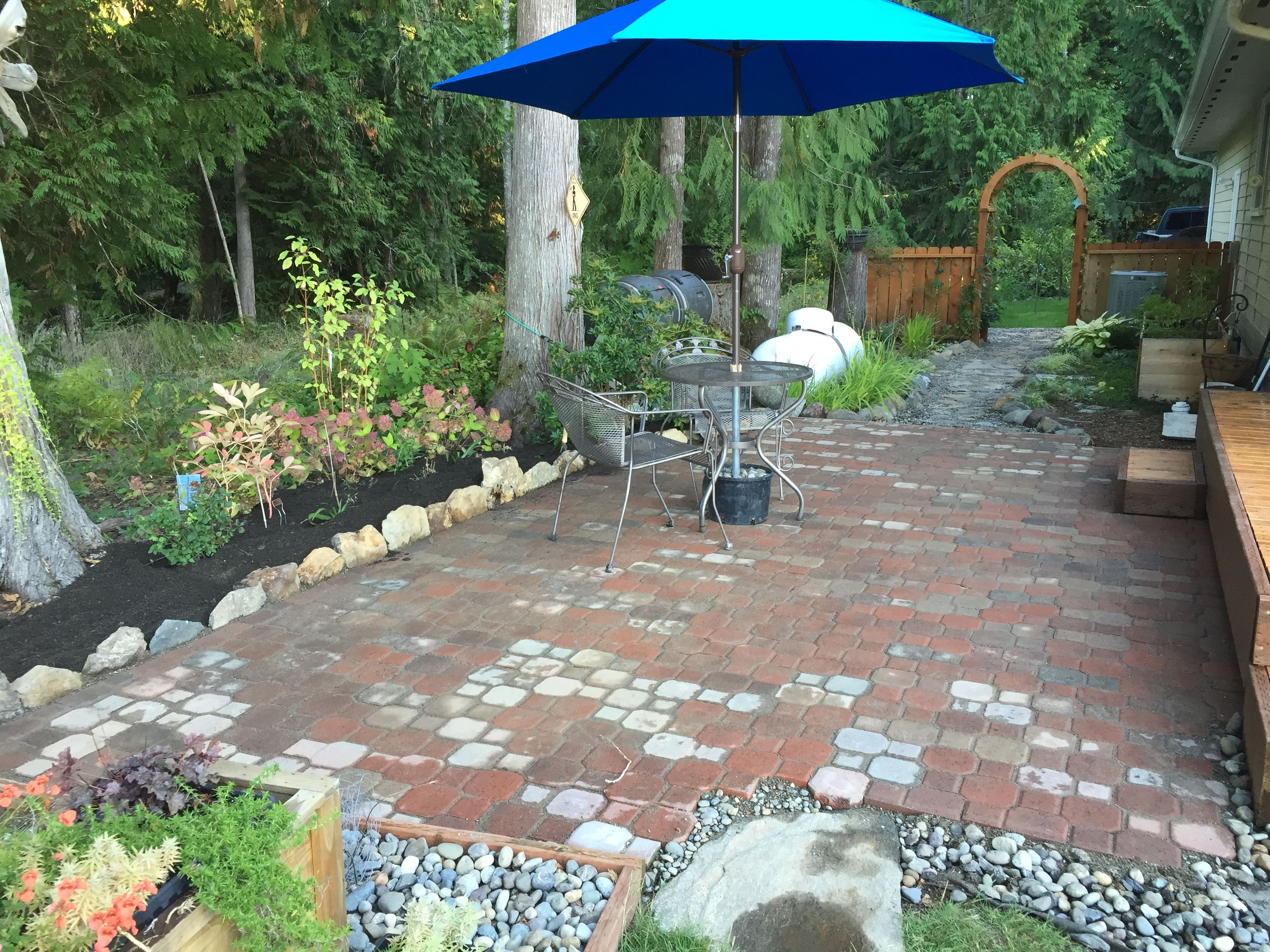completed brick aug 2015 bricksgarden - Brick Garden 2015