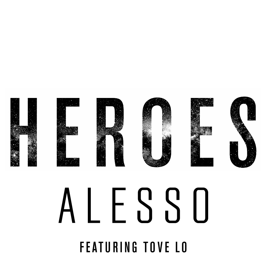 Single Cover for ALESSO - Heroes by acidandmarble.com