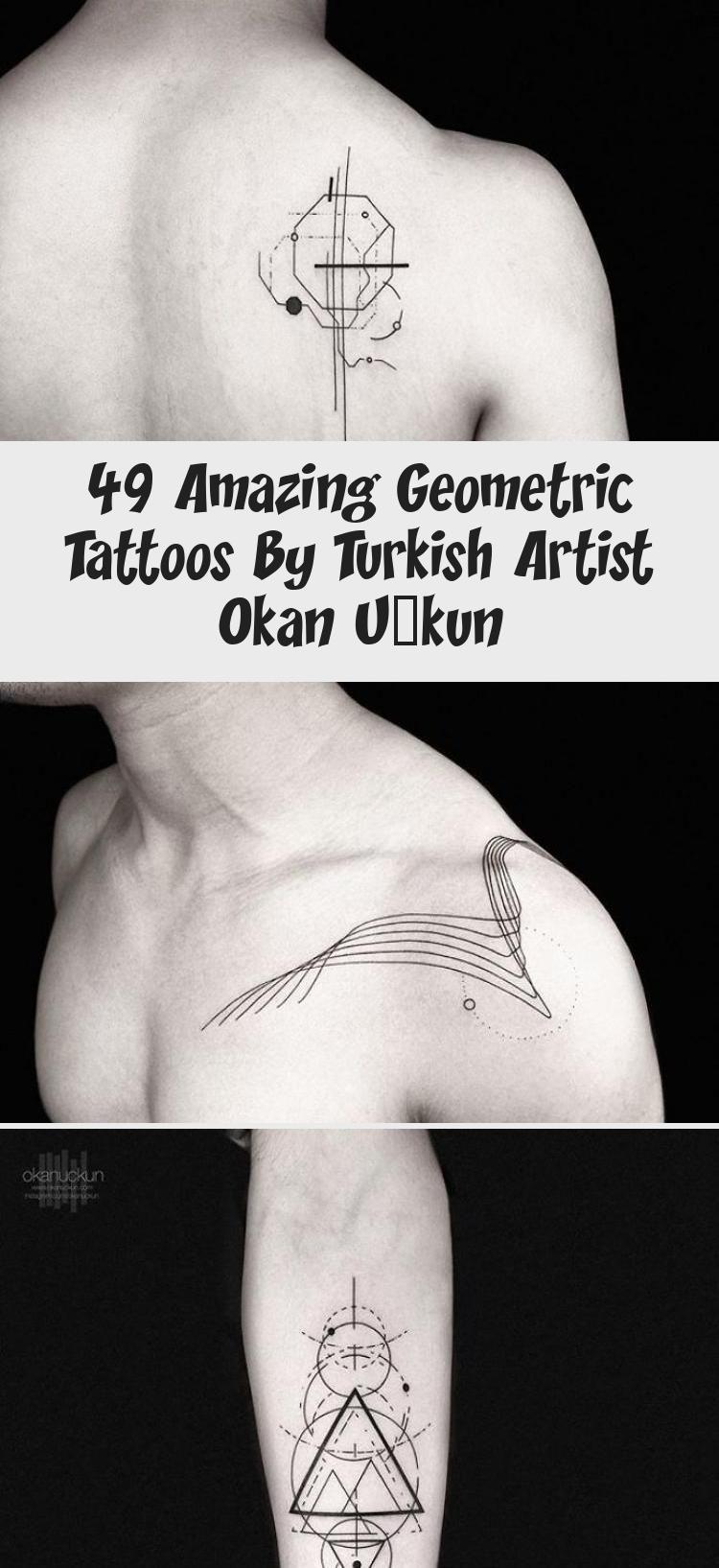 49 Amazing Geometric Tattoos By Turkish Artist Okan Uçkun  Tattoo  Artist Inspired By Nature And Geometric Shapes Creates Perfect Minimalist Tattoos