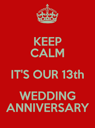 13th Wedding Anniversary Google Search Wedding Anniversary Quotes 13th Wedding Anniversary Wedding Anniversary