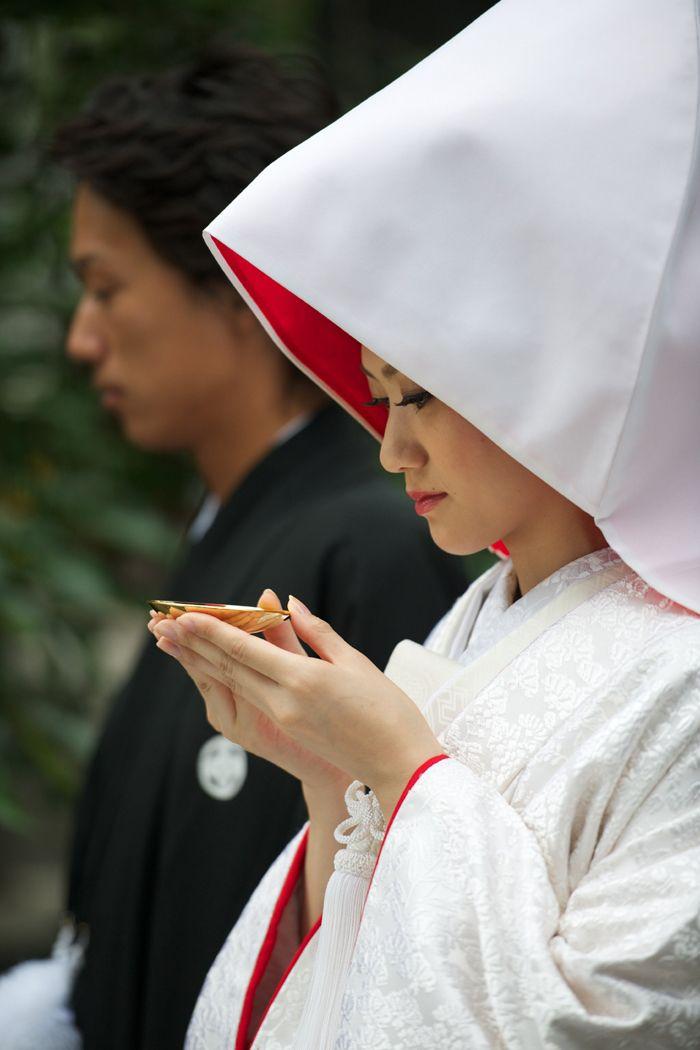 92be16ce6 Kimono tradicional de noiva japonesa.
