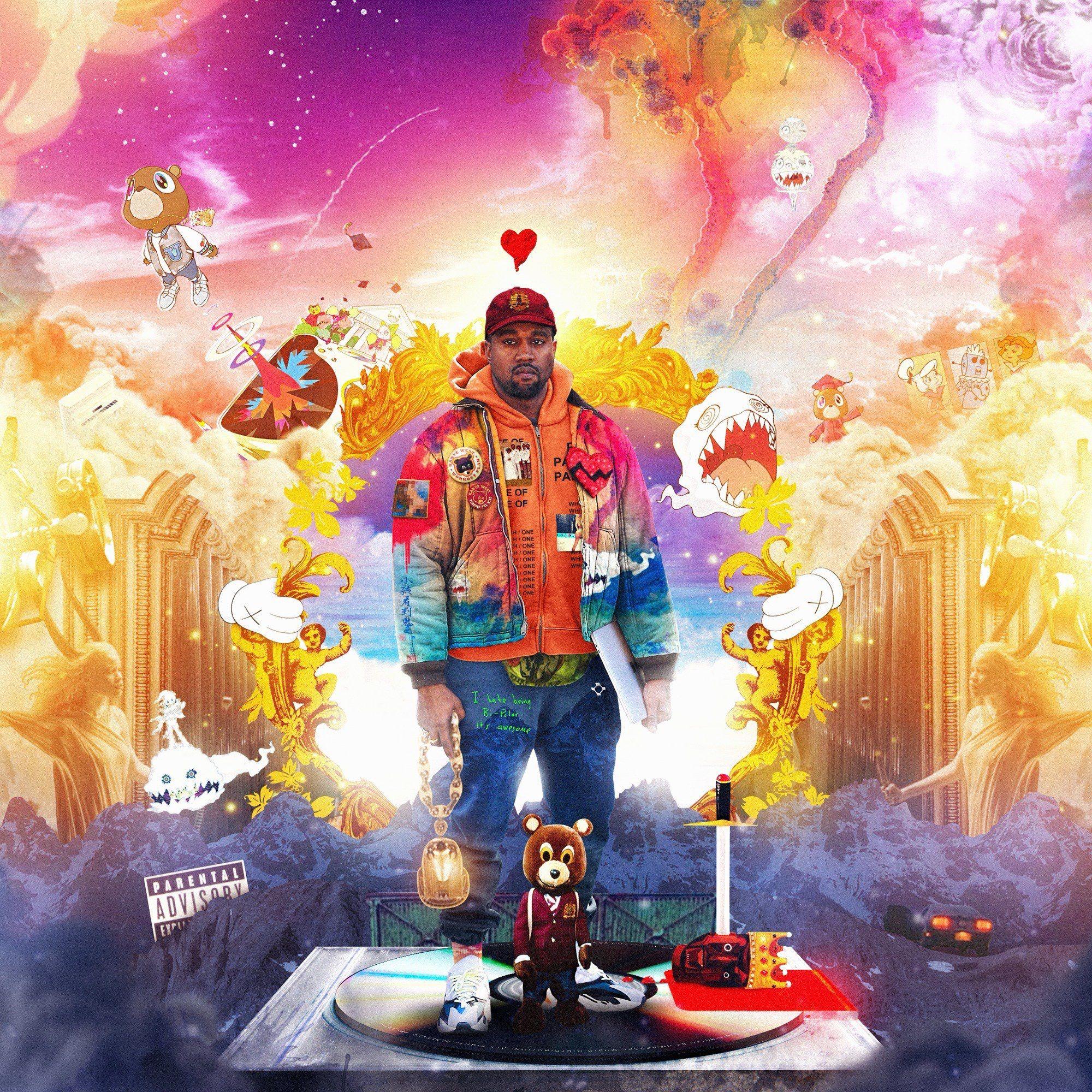 Kanye S Discography Kanye West Album Cover Kanye West Albums Kanye West Wallpaper